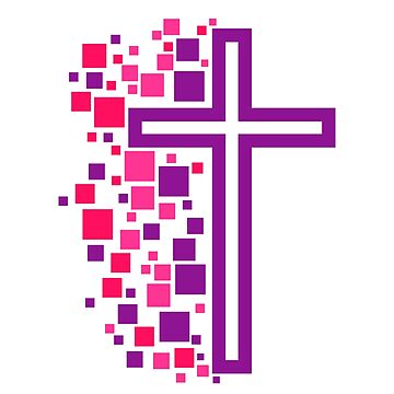 Church logo. Christian symbols. The Cross of the Savior and the Lord Jesus Christ by biblebox