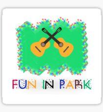 Fun in Park Sticker