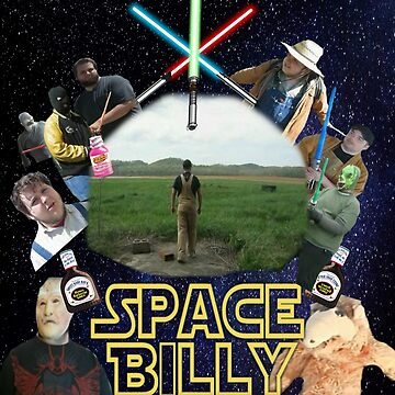 Space Billy Official Poster by BlueWoodStudios