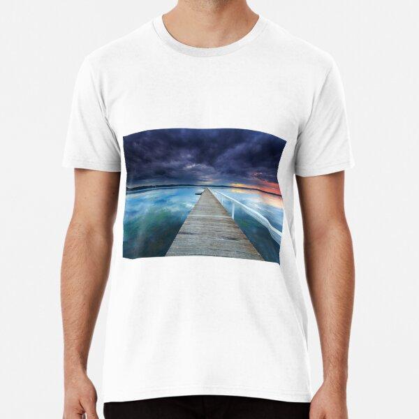 Long Jetty sunset Premium T-Shirt
