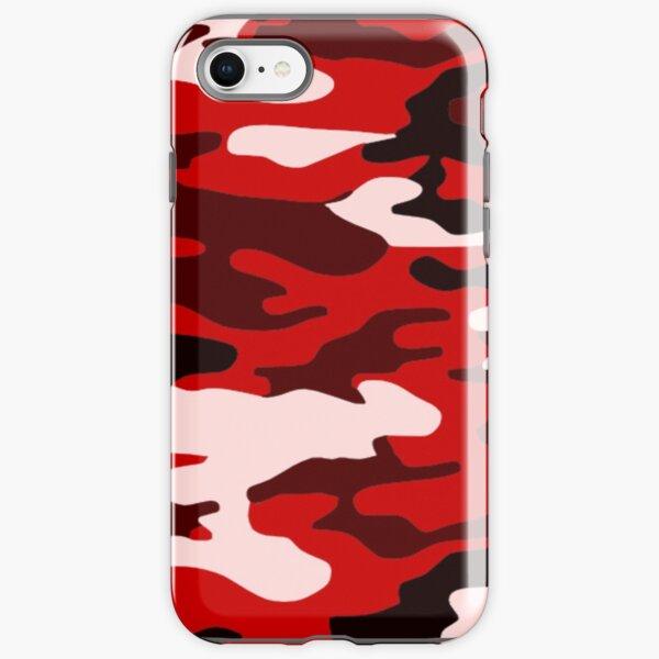 Red Camo iPhone Tough Case