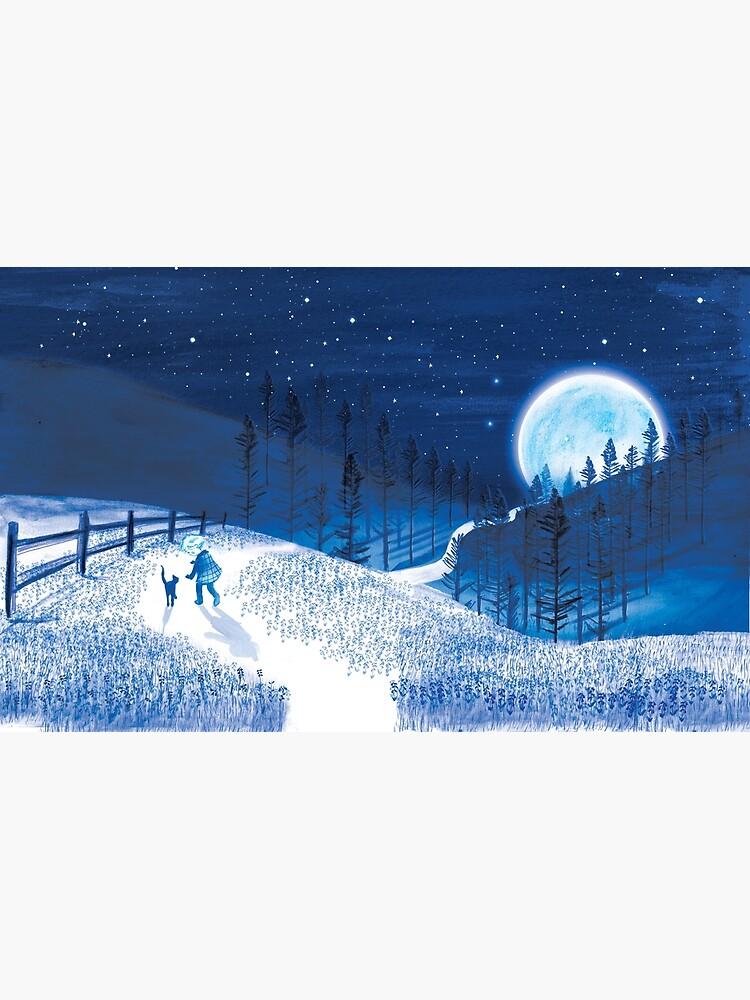 Boy and Blue Moon  by ashleycrowley1