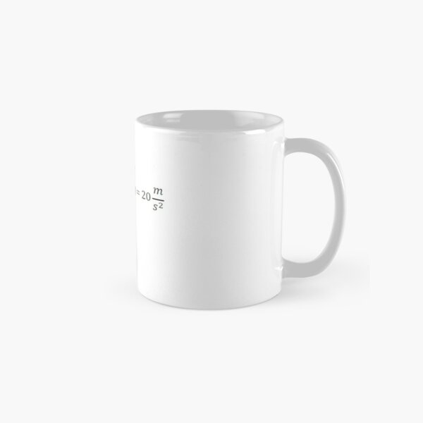 Physics Problem Classic Mug