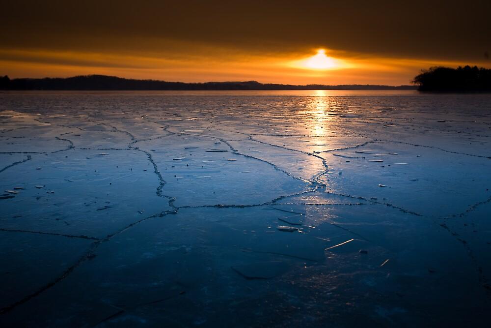 Merrimac Ice by Loren Zemlicka