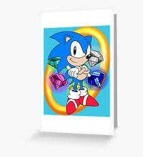 Sonic Greeting Card