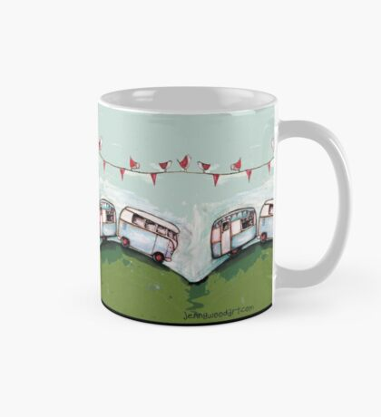 Happiness is a journey not a destination quote Mug