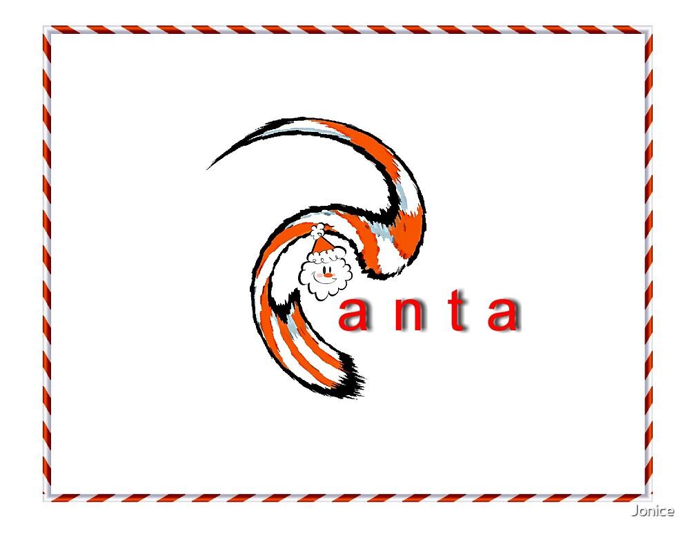 Santa by Jonice