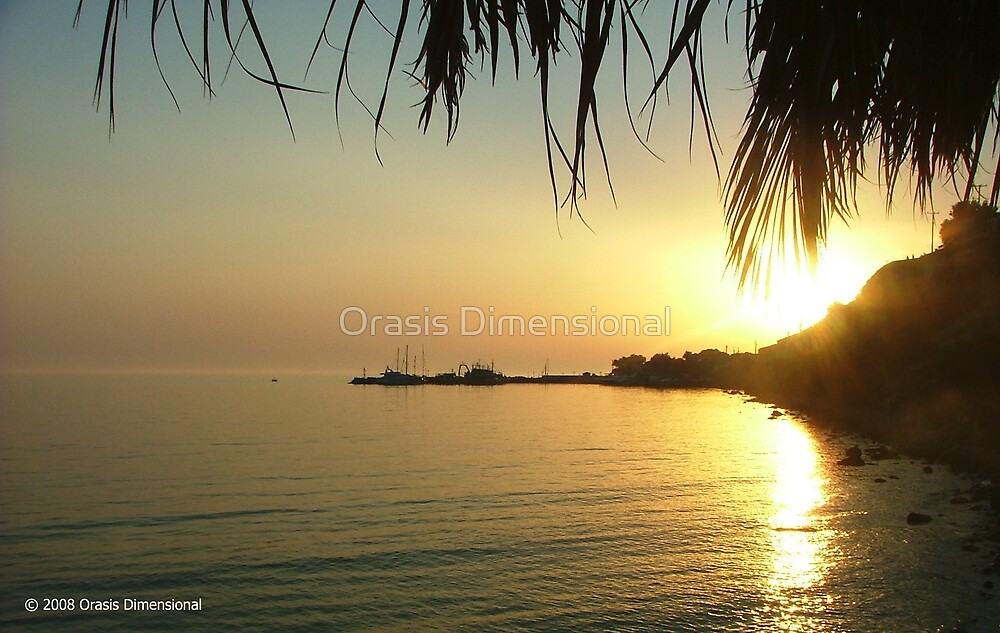 Port Sunset by Orasis Dimensional