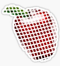 Apple pixel  Sticker
