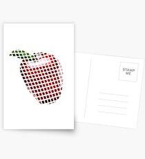 Apple pixel  Postcards