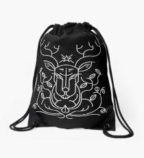 Reindeer Drawstring Bag