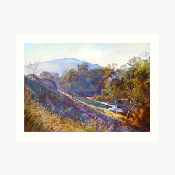 'Good Morning Billy Hill' Art Print