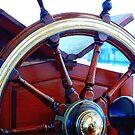 The Wheel - James Craig by Bev Woodman