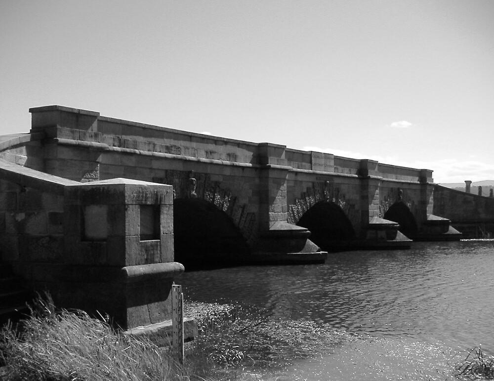 Bridge at Ross, Tasmania by Paul W. Kerr