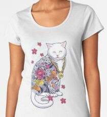 Mob Cat  Women's Premium T-Shirt