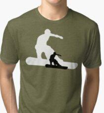snowboard : shadowstance Tri-blend T-Shirt