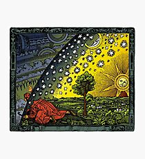 The Flammarion engraving, hand coloured Photographic Print