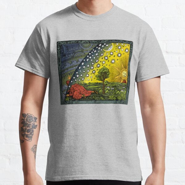 The Flammarion engraving, hand coloured Classic T-Shirt
