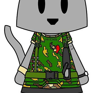 Aliens Cat Hicks - Stay Frosty by NuthatchDesigns