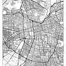 Santiago Karte Minimal von HubertRoguski