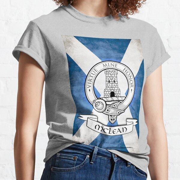 McLean Family - Scottish Clan Crest Classic T-Shirt