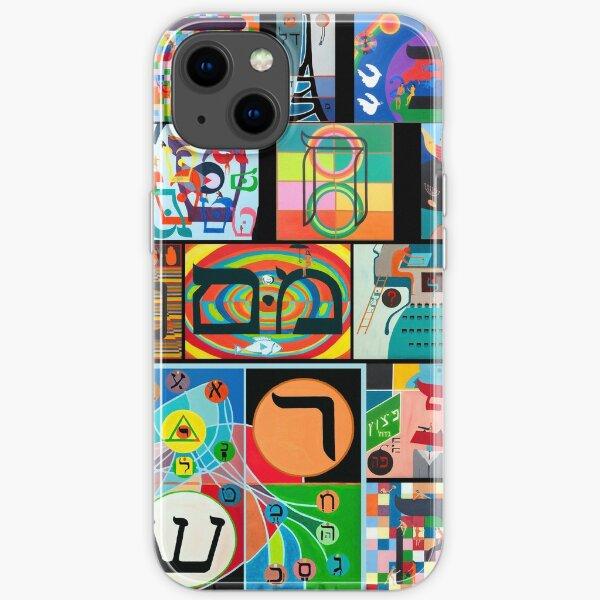 Modern Hebrew Alephbet  iPhone Soft Case