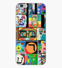 Modern Hebrew Alephbet  iPhone Case