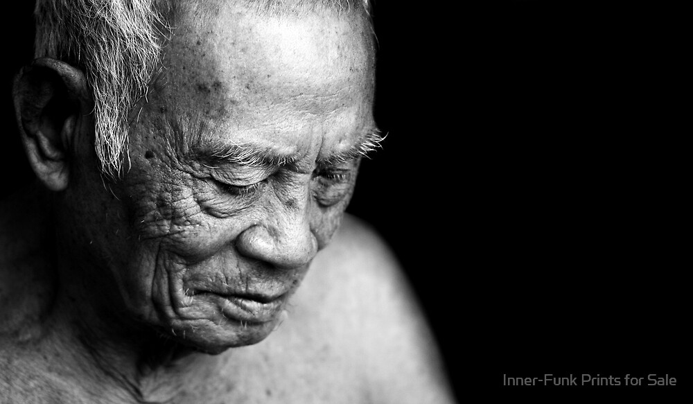 Faces of Laos. by Inner-Funk Prints for Sale