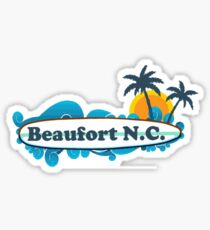 Beaufort - North Carolina. Sticker