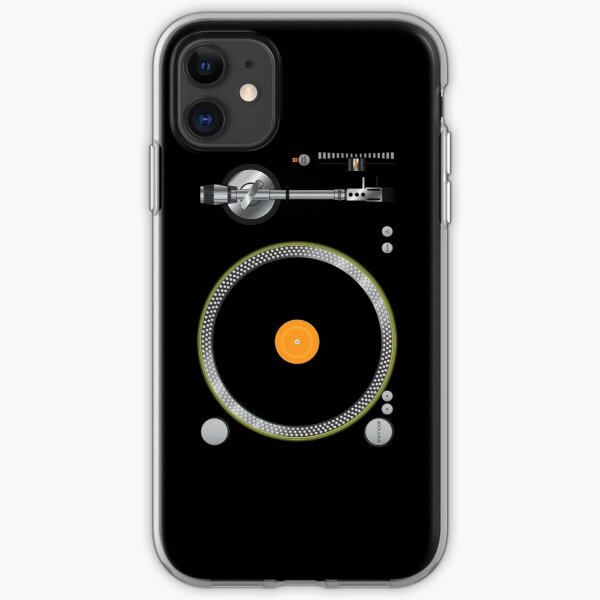 Turntable Music Vinyl Record Player  Gramophone iPhone Soft Case