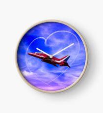 Red Arrows Love Clock
