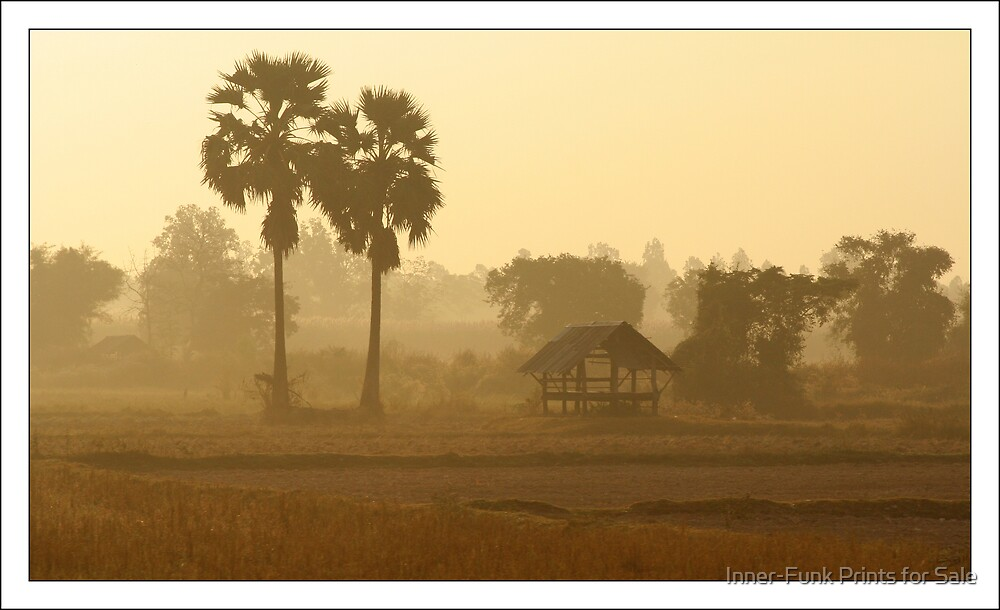Thai Misty Morn by Inner-Funk Prints for Sale