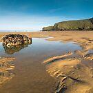Watergate bay Cornwall by eddiej