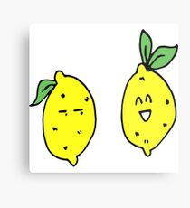 Just 2 lemons Metal Print