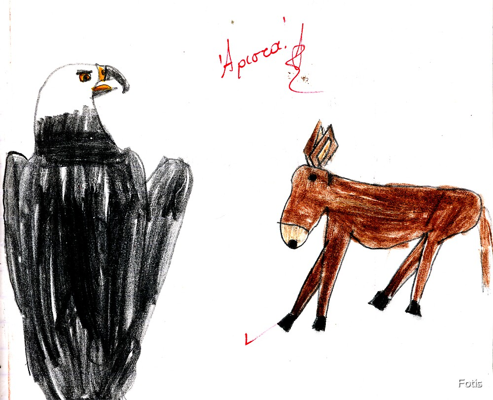 The Eagle And The Donkey by Fotis