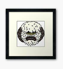 Angry Wampa Framed Print