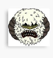 Angry Wampa Canvas Print