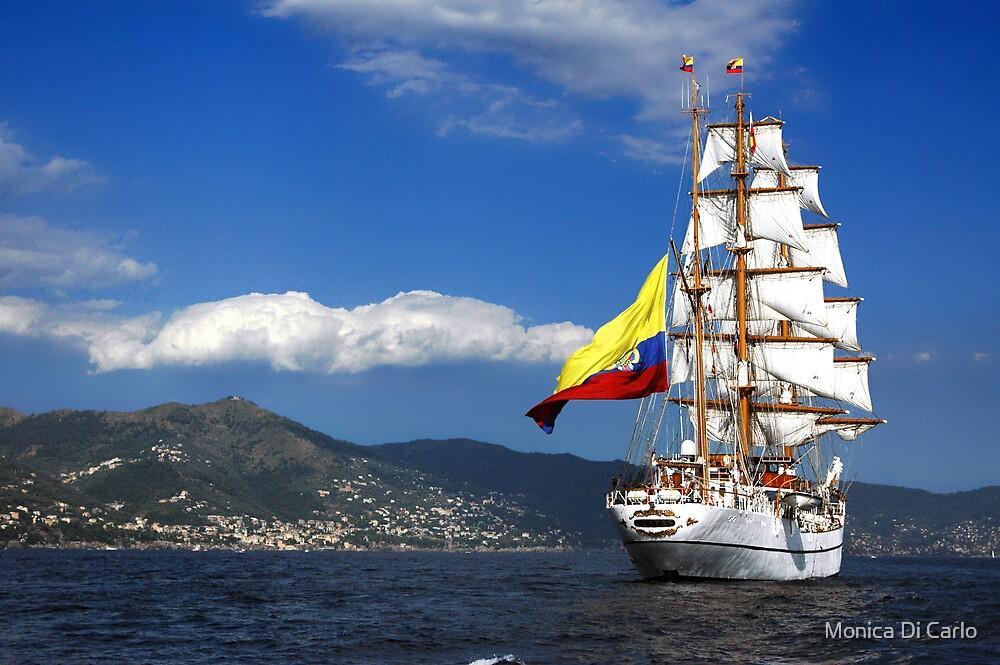 Tall Ships 1 by Monica Di Carlo