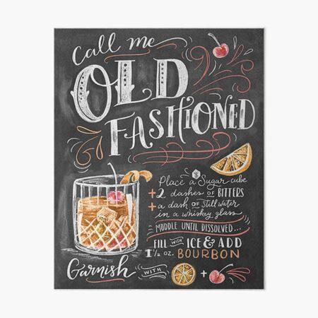 Old Fashioned Art Board Print