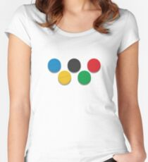 2018 Russian Olympics  Women's Fitted Scoop T-Shirt