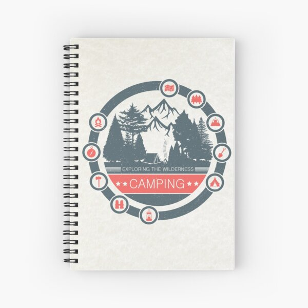 Camping Spiral Notebook