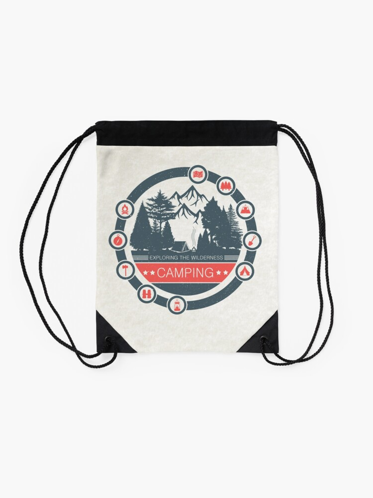 Alternate view of Camping Drawstring Bag