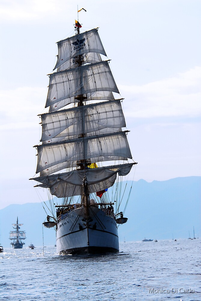 Tall ships 3 by Monica Di Carlo
