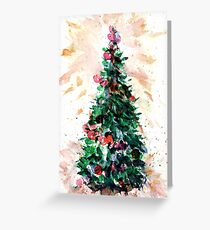 Festive Fir Greeting Card