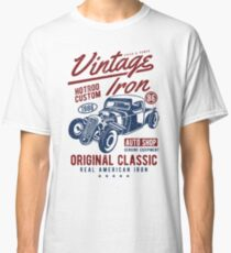 Hot Rod Car Retro Vintage Classic T-Shirt