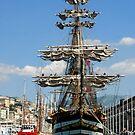 tall ships 6 by Monica Di Carlo