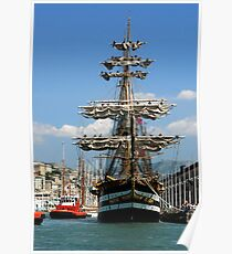 tall ships 6 Poster