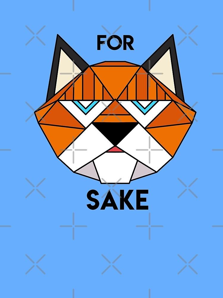 For Fox Sake by Calum Margetts Illustration