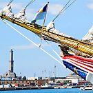 tall ships 9 by Monica Di Carlo