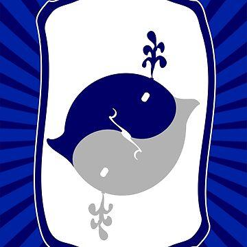 Whale Yin Yang VRS2 by vivendulies